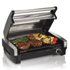 grill electrico compacto