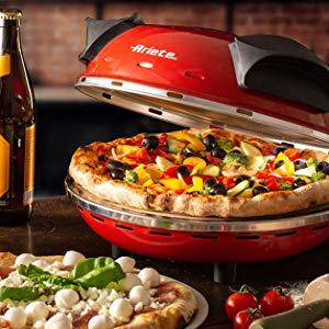 horno para pizza rojo
