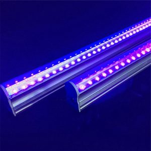 dos lámparas de luz UV