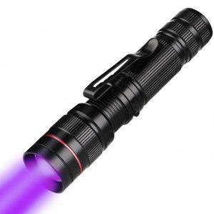 lámpara de luz UV de mano