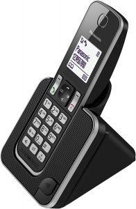 teléfono fijo inalámbrico moderno