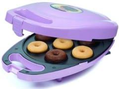 máquina de donuts morada