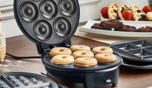 máquina de donuts redonda