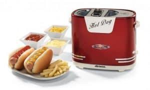 máquina de perritos calientes de diseño