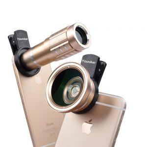 varios objetivos para móvil en móviles