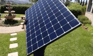 placa solar mediana