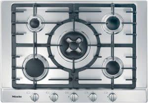 placa de cocción de gas