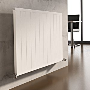 radiador eléctrico de pared blanco