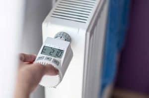 regulador de temperatura de radiador eléctrico de pared