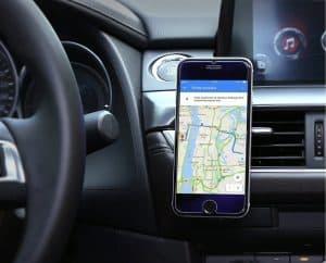 soporte de móvil para coche con móvil