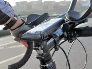 soporte de móvil para bici seguro