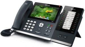 teléfono VoIP moderno