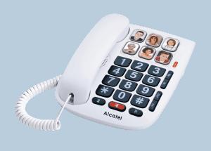 móvil para personas mayores con cable