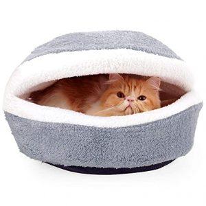 cama para gato cerrada