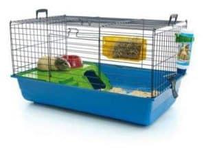 jaula para conejo con accesorios