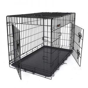 caja para perro abierta