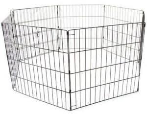 jaula para conejo parque
