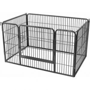 caja para perro fija