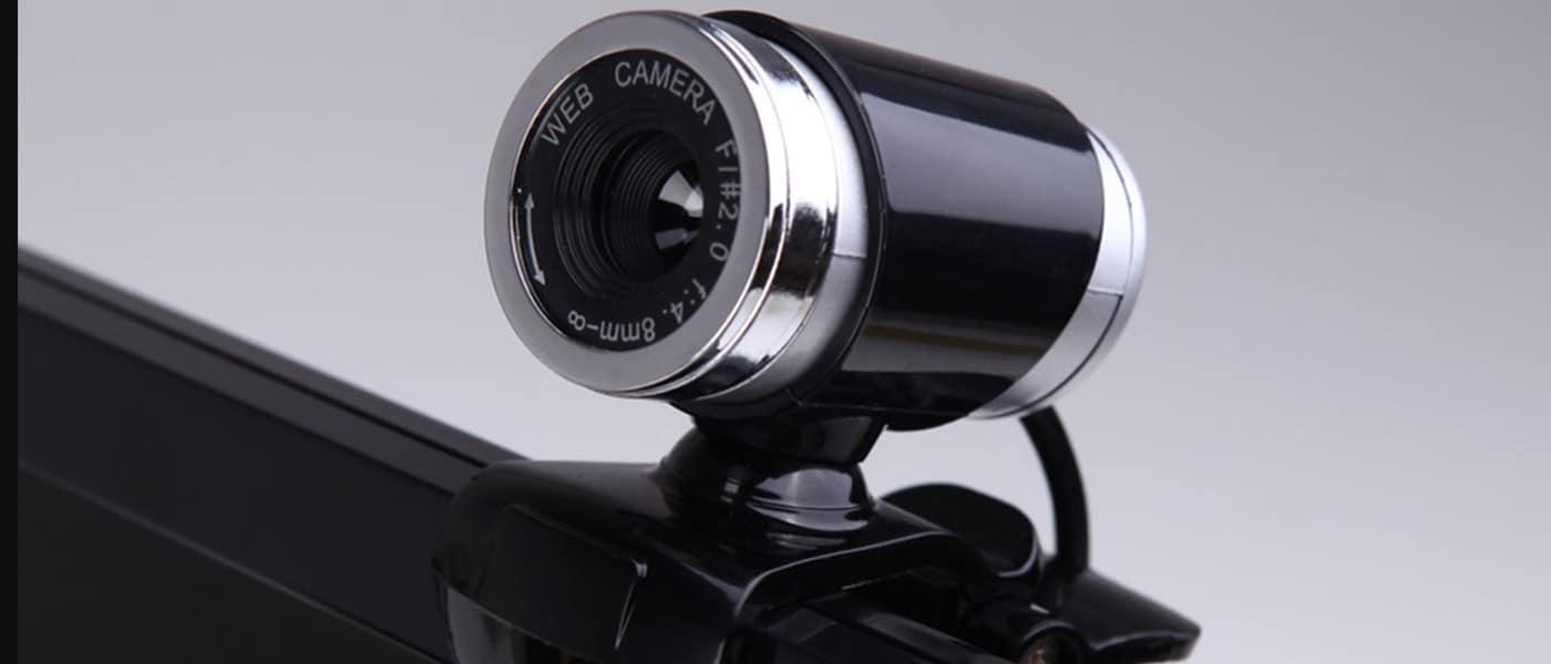 cámara web pequeña