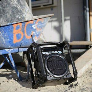 radio de obra compacta