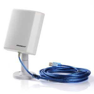 Antena wifi de largo alcance con cable