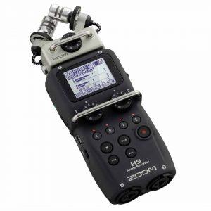 grabadora de voz con micrófonos extra