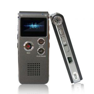 grabadora de voz compacta