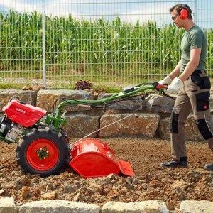 cultivador rojo
