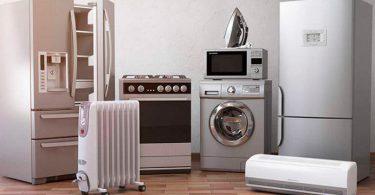 varios electrodomésticos
