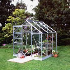 invernadero de jardín pequeño transparente