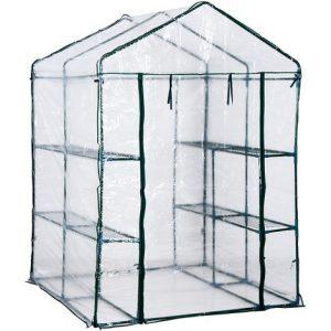 invernadero de jardín de plástico