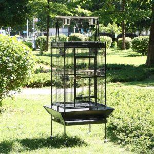 jaula para pájaros grande