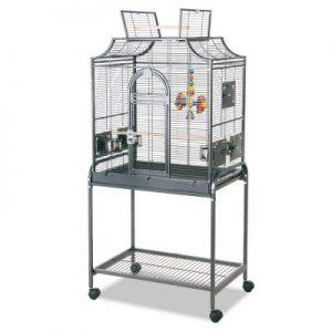 jaula para pájaros con ruedas