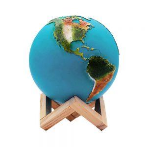 globo terráqueo moderno