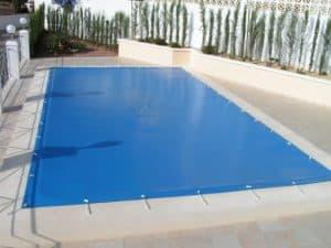 lona protectora para piscina
