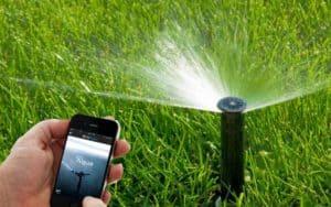 riego automático conectado al móvil