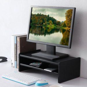 soporte para pantalla de ordenador negro