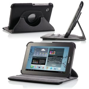 tablet con funda