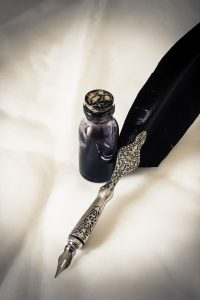 pluma estilográfica antigua