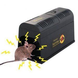 trampa para ratas eléctrica
