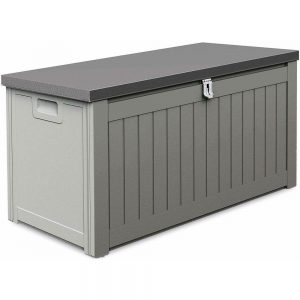 caja de almacenamiento exterior cerrada
