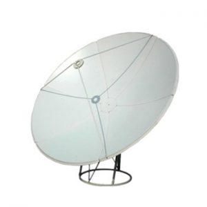 antena satélite grande