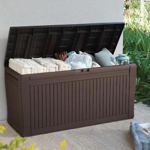 caja de almacenamiento exterior con cosas