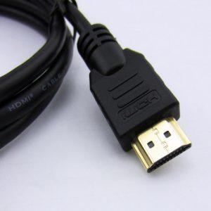 cable HDMI negro