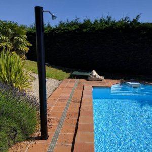 ducha solar para la piscina