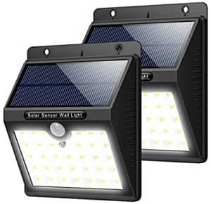 dos lámparas solares
