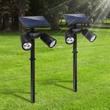 lámparas solares modernas