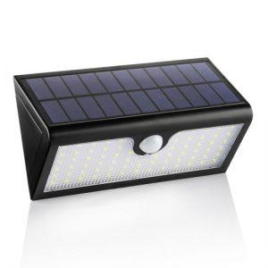 lámpara solar de pared