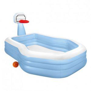 piscina hinchable con forma especial