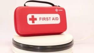 botiquín de primeros auxilios pequeño